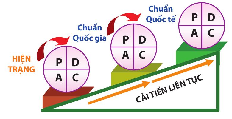 Chu trình PDCA - Cải tiến không ngừng để đạt được kết quả tốt hơn